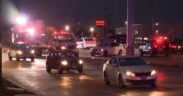 Many cars get involved in a shooting in Hazelwood MO