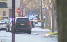 Rochester NY officer shot in the neck