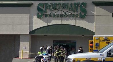 people were seriously injured following a Carson Mall car crash