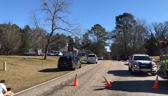 the east Texas church shooting has left one person dead and several injured.