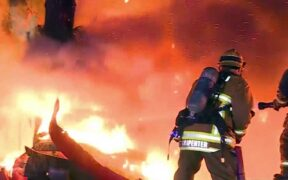 San Jacinto Bonita fire broke out early Friday morning in the community of Mountain Center in Riverside County