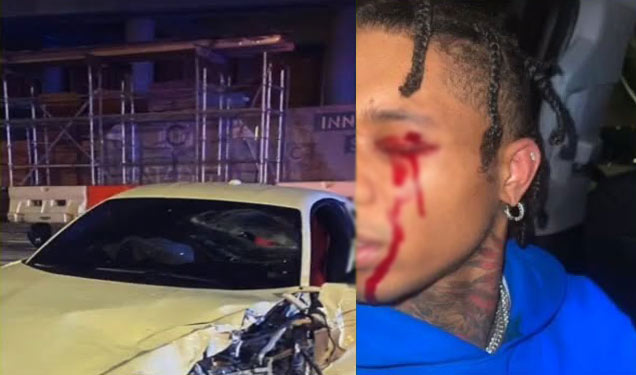 Swae Lee and Mike Will Made-It survived from a car accident
