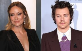 Olivia Wilde is dating Harry Styles, a ten year younger guy.