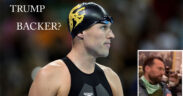 The American Olympic gold-medal swimmer Klete Keller is charged in recent Capitol riots.