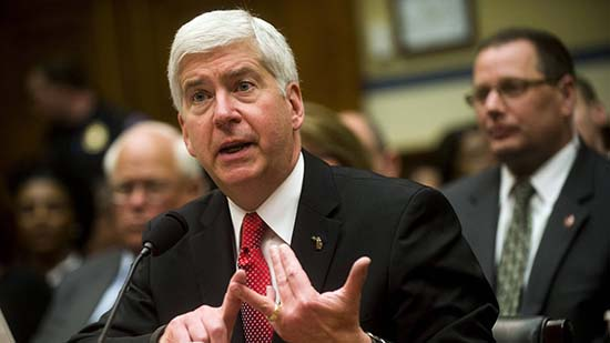 Rick Snyder's Flint Michigan water crisis got him and other top officials in trouble.