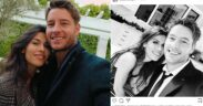 Justin Hartley shows his new girlfriend on Instagram