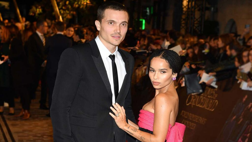 Zoe Kravitz split Karl Glusman after less than 2 years
