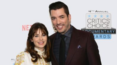 Zooey Deschanel and Jonathan Scott celebrated new year together