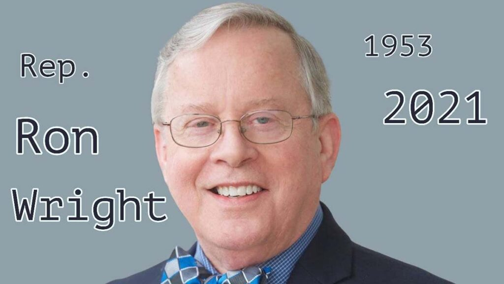 Ron Wright's cause of death is not revealed yet.