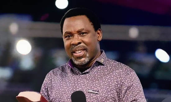 prophet TB Joshua's cause of death was not immediately disclosed