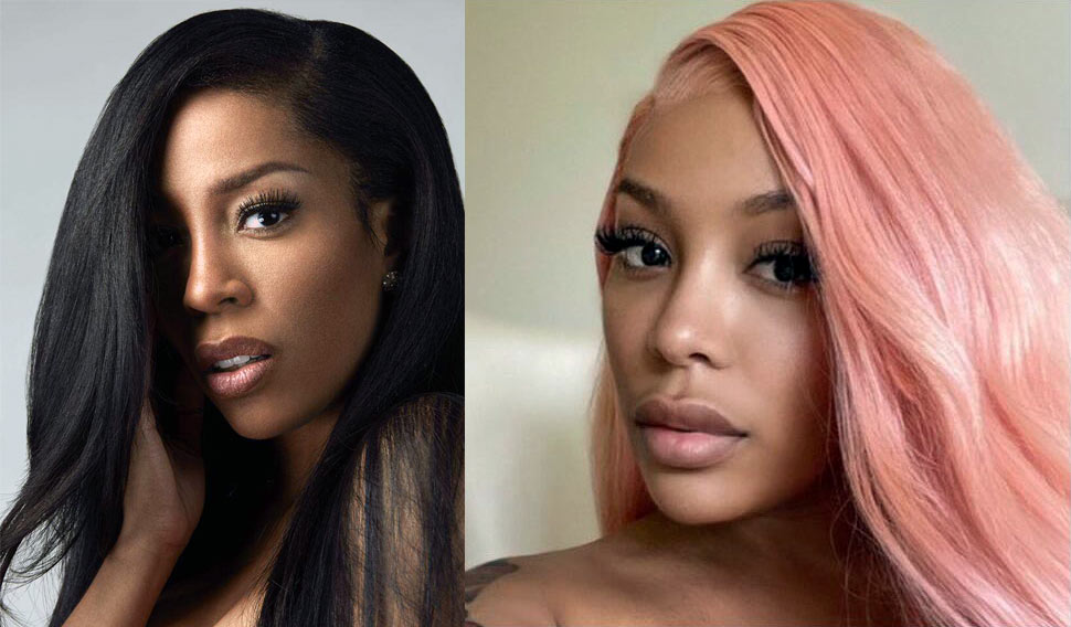 The singer K Michelle has denied any plastic surgery