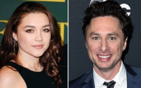 Florence Pugh and Zach Braff's relationship is still strong