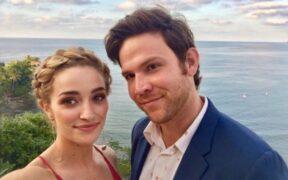 Matt Ziering, Brianne Howey's Wedding Pics Make Headline