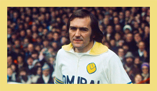 Former Leeds United player Terry Cooper's cause of death has not been revealed