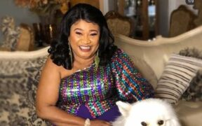 Popular Nigerian actress Racheal Oniga's cause of death has not been released at this time