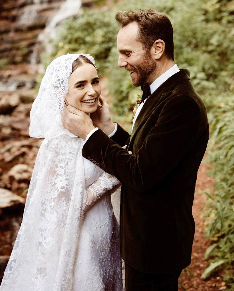 Lily Collins married Charlie McDowell