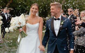 Kyle Cooke and Amanda Batula's Wedding Pic Makes Headlines