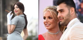 Sam Asghari's Ex Sends Congrats to Britney Spears' Engagement
