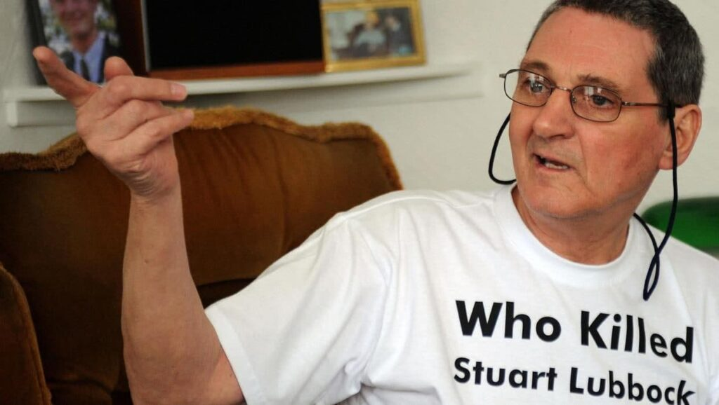 What's Stuart Lubbock's Dad Terry Lubbock's Cause of Death?